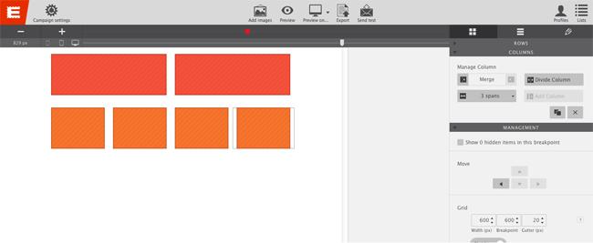 email design coffeecup editor