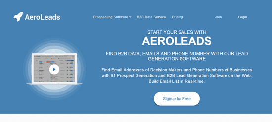 aeroleads business lead generation