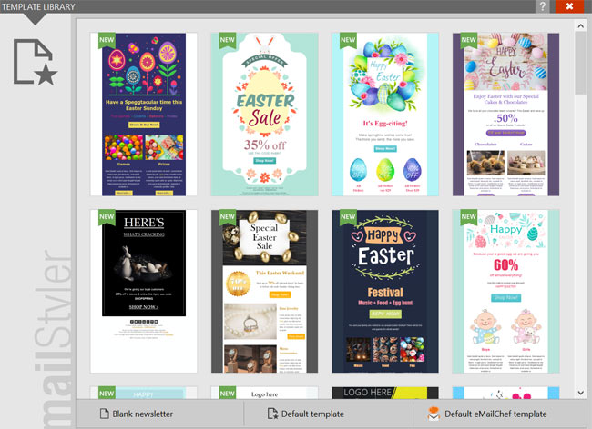 mailstyler templates email designers windows