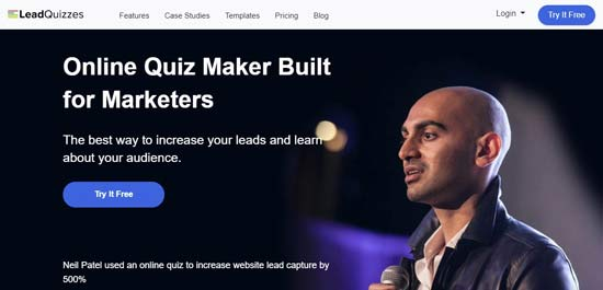 leadquizzes best email list building tools