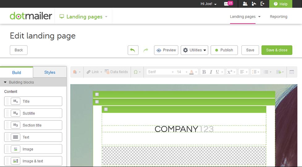 dotmailer adds lead scoring, landing page builder and liquid script