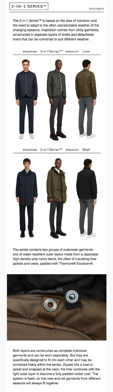2in1email segmentation example