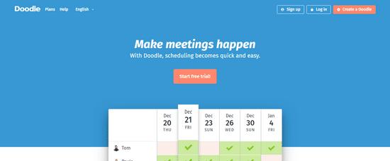 doodle lead scheduler