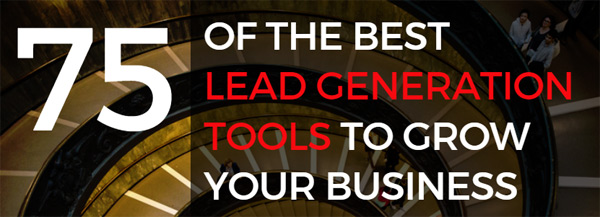 75 lead generation tools