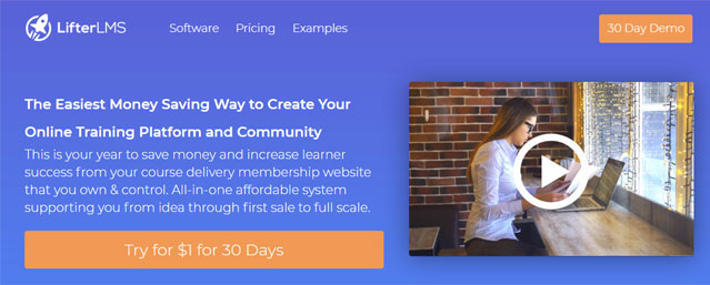 LMS course software wordpress