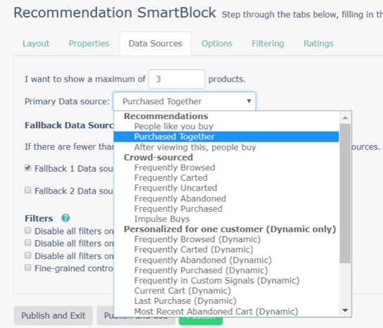 Recommendation Smart blocks email automation example