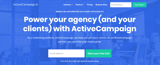 activecampaign agency saas software reseller