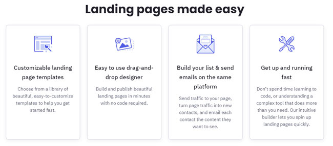 ActiveCampaign Landing Pages review
