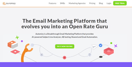 automizy email marketing automation