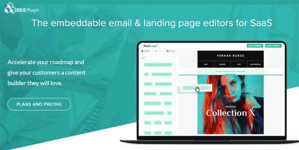 bee plugin whitelabel email editor