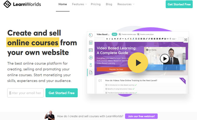 best online course platforms create sell