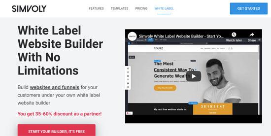 best white label website builders