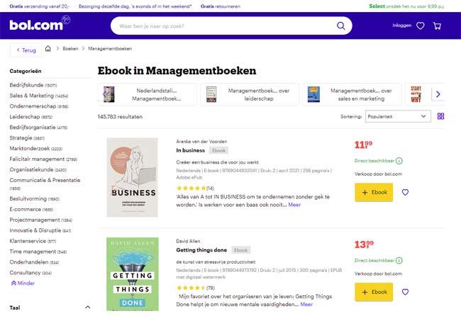 Beste ebooks digitale producten verkopen