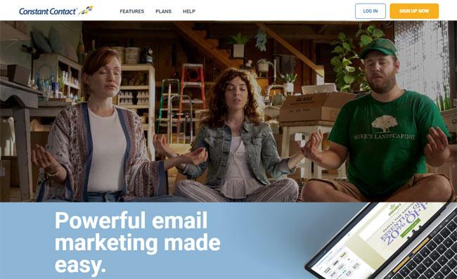 constantcontact mailchimp alternative cheap email