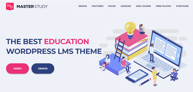 education wordpress course software