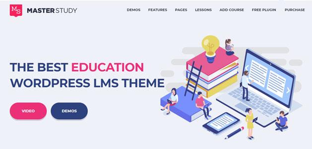 education wordpress course software