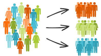 email segmentation flow