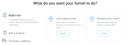 getresponse review funnel builder