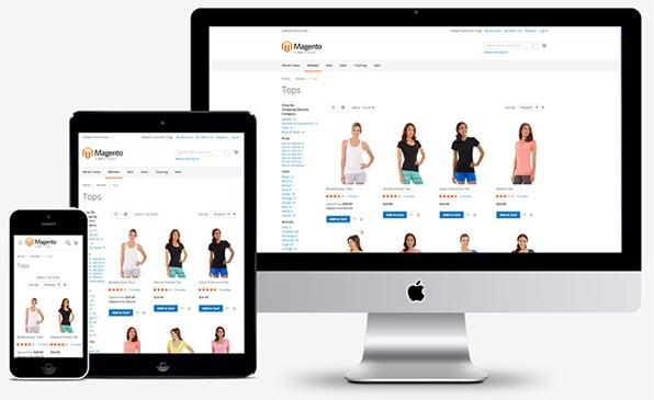 magento ecommerce mobile responsive