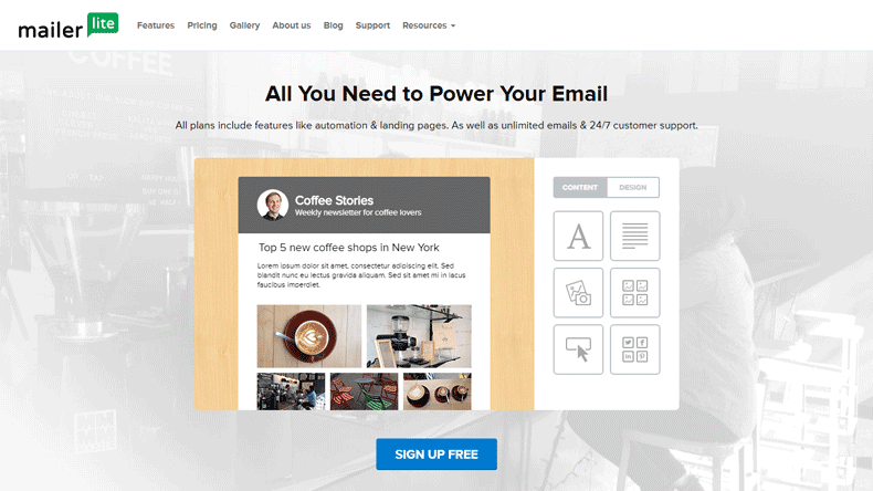 mailchimp alternatives mailerlite email marketing