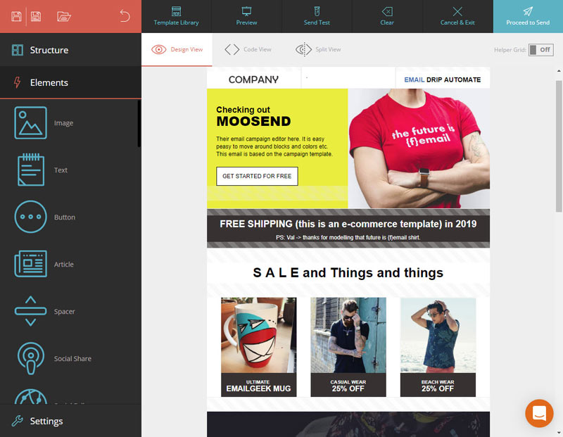 moosend cheap email marketing platform