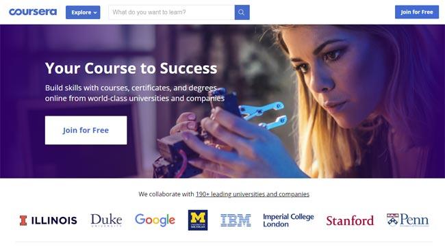 online training academics platform