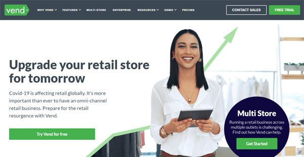 retail POS software system vend