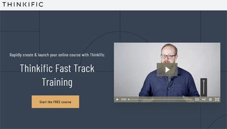 best online training software thinkific