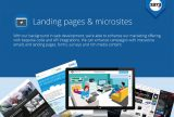 Microsites and landing pages