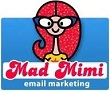 Mad Mimi logo email marketing software