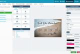 Smartfocus content builder canvas with countdown element