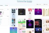 bee page builder templates