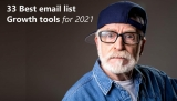33 Best email list building tools (2021)