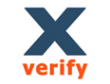 Xverify logo email marketing software
