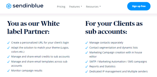 white label saas email marketing software