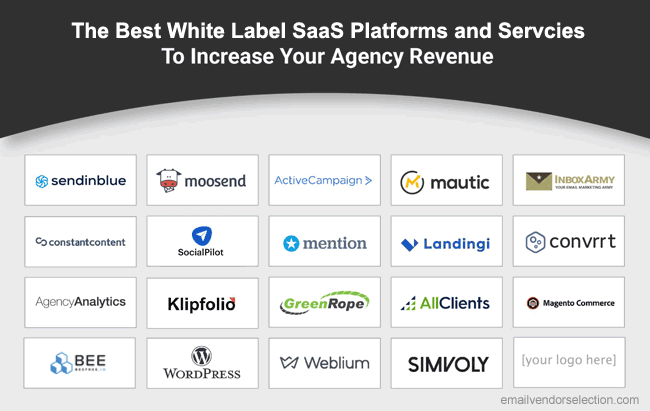 best white label saas platforms overview